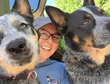Bertie and her new friends